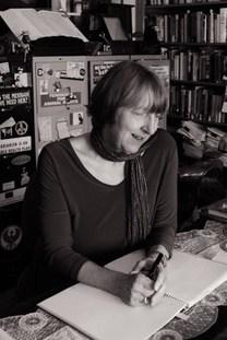Carol J Adams in her office