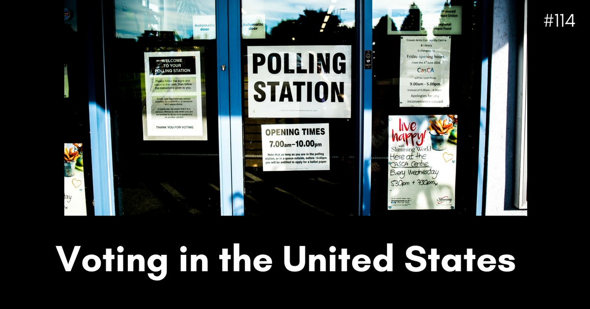 A history of voting in the USA